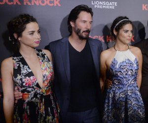 'Knock Knock' premiere in Los Angeles