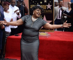 Shirley Caesar honored on the Hollywood Walk of Fame
