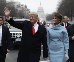 Pennsylvania Avenue hosts to the inaugural parade