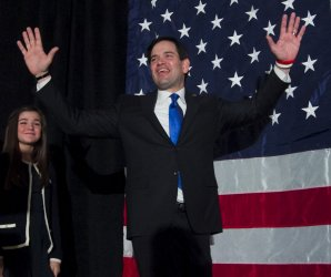 Marco Rubio on the campaign trail