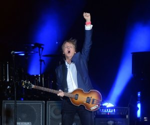 Paul McCartney joins other rock legends for second weekend of Desert Trip