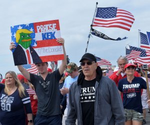 Supporters rally in Southern California to 'Make America Great Again'