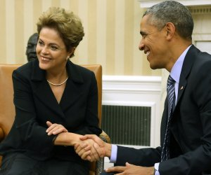Obama hosts Dilma Rousseff in Washington