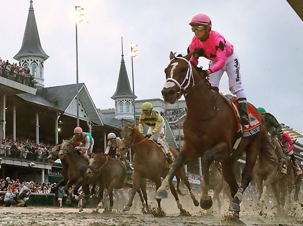 Kentucky Derby field given post positions