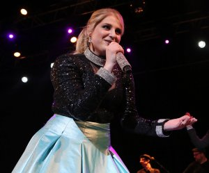 Meghan Trainor performs in Paris
