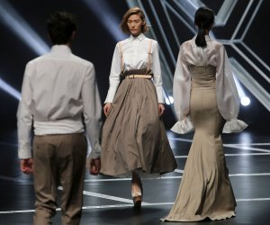 In photos: Wang Xiaoshi show at China Fashion Week