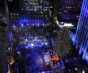 Christmas comes to NYC with the annual Rockefeller Center tree lighting ceremony