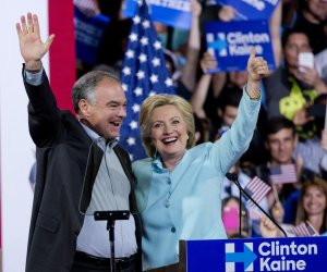 "<img src=""/img/camera.png"" style=""padding: 5px 5px 0 0; display: inline;"">Hillary Clinton introduces Sen. Tim Kaine as her running mate"