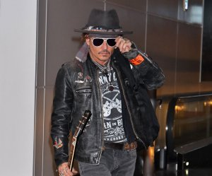Johnny Depp promotes 'Pirates of the Caribbean' in Tokyo