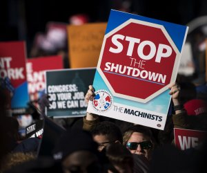 In-photos:-Federal-workers-rally-against-shutdown