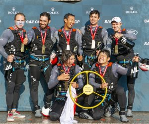 In photos: Team Japan wins New York SailGP