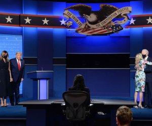 , In Photos: President Trump, Joe Biden meet for final presidential debate, Forex-News, Forex-News