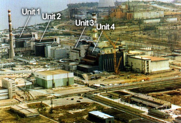 view of the Che... Chernobyl Before 1986