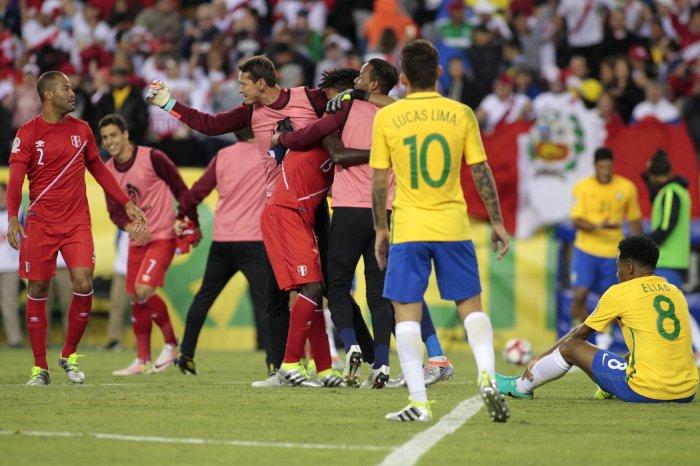 2016 Copa America Brazil Vs Peru All Photos Upi Com
