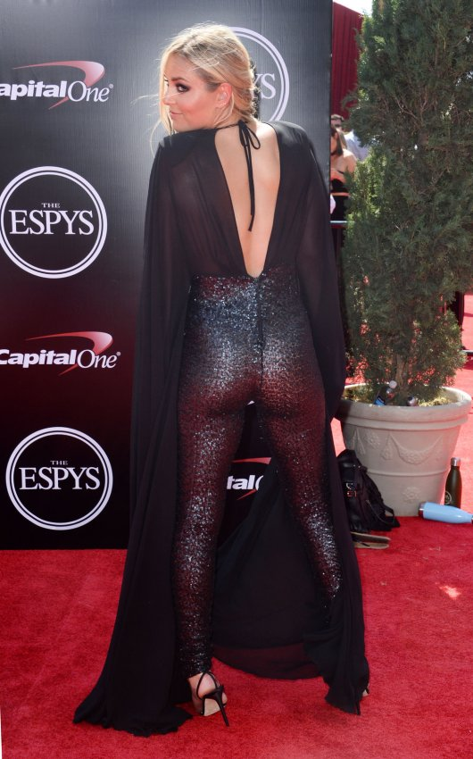 On The Red Carpet At The 2016 Espy Awards In Los Angeles