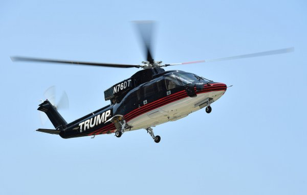 Donald Trump Helicopters Into Cleveland For Day Three Of RNC  UPI