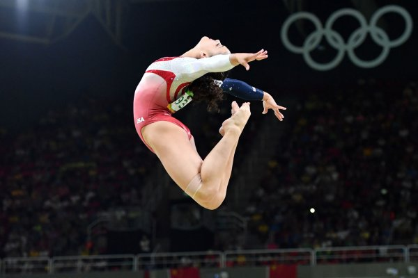 In Pictures Team Usa Women S Gymnastics At The 2016 Rio