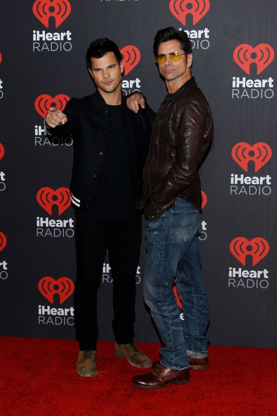 On the red carpet at the 2016 iHeartRadio Music Festival