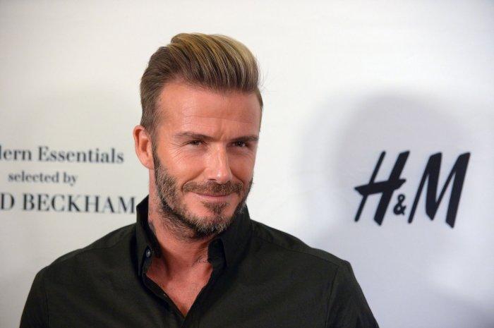 David Beckham Launches H M Modern Essentials Campaign All Photos Upi Com