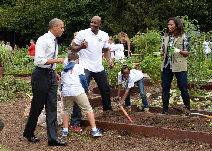 Michelle Obama White House Kitchen Garden