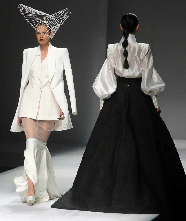 Highlights from China Fashion Week 2017 in Beijing - All