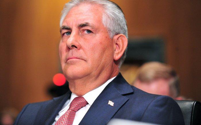 Rex Tillerson -- Secretary of State