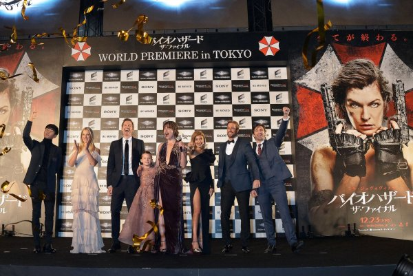 Resident Evil The Final Chapter Premiere In: Stars Attend The 'Resident Evil: The Final Chapter