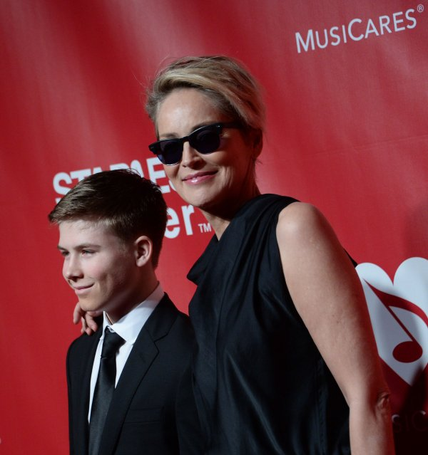 Sharon Stone and Roan Bronstein