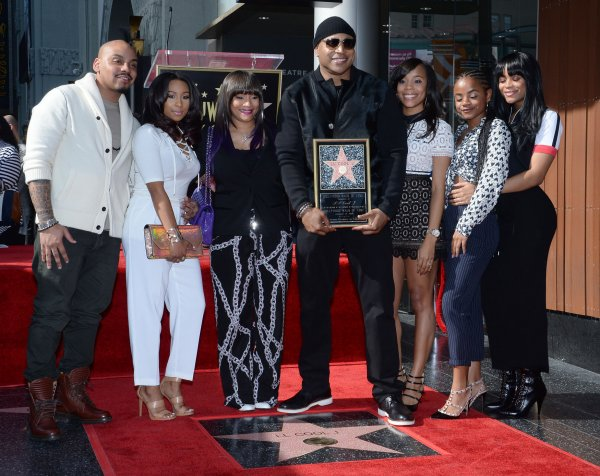 LL Cool J and family