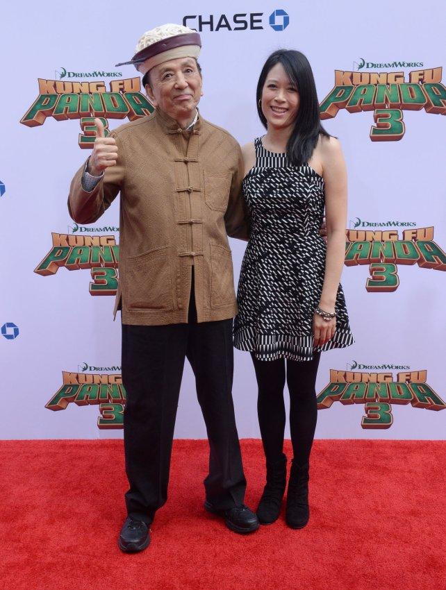 James Hong and April