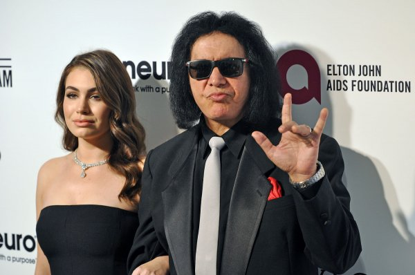 Gene Simmons and Sophie Simmons