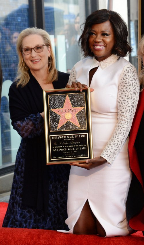 Image result for Viola Davis Honored With A Star On The Hollywood Walk Of Fame