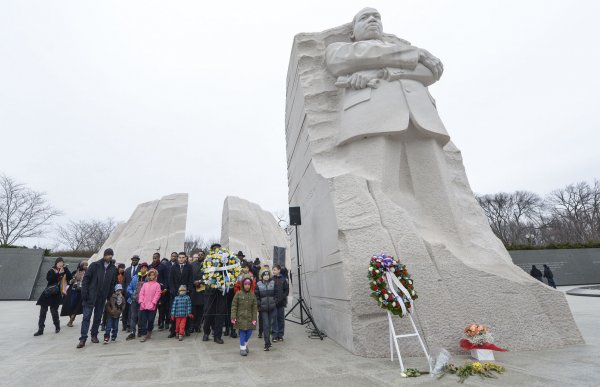 In Photos Remembering Martin Luther King Jr