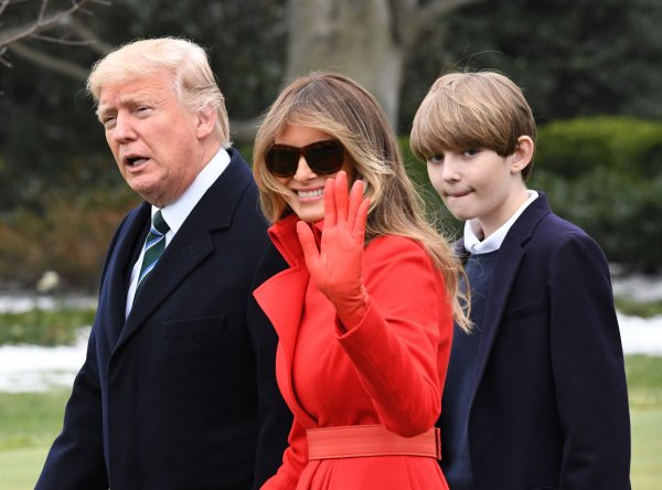The First Family leaves the White House for Florida