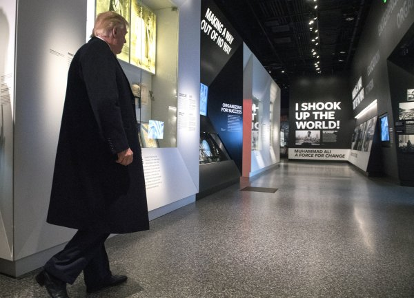 President Trump tours the Smithsonian Museum of African American History in Washington, D.C.