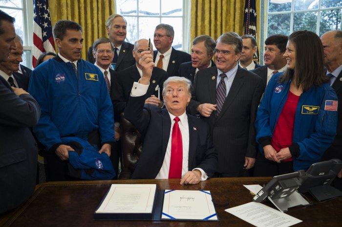 President Trump Signs NASA Transition Authorization Act