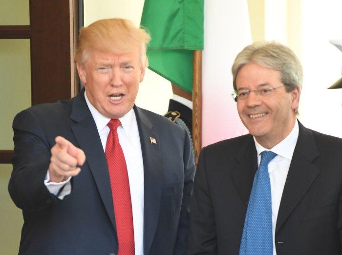 President Trump welcomes Italian PM Paolo Gentiloni