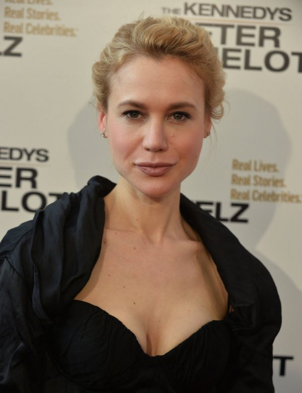 "Kristen Hager attends screening of Reelz's ""The Kennedys: After Camelot"" in Beverly Hills"