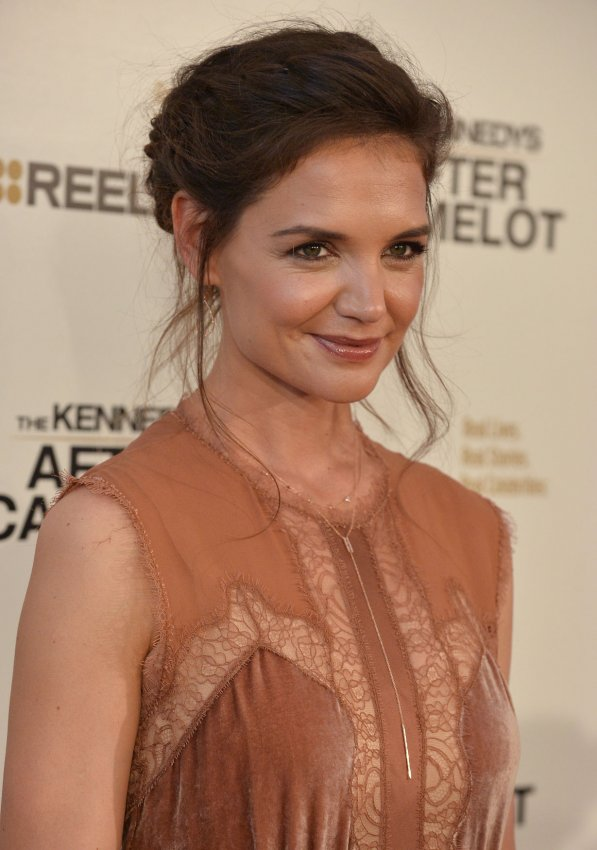 "Katie Holmes attends screening of Reelz's ""The Kennedys: After Camelot"" in Beverly Hills"