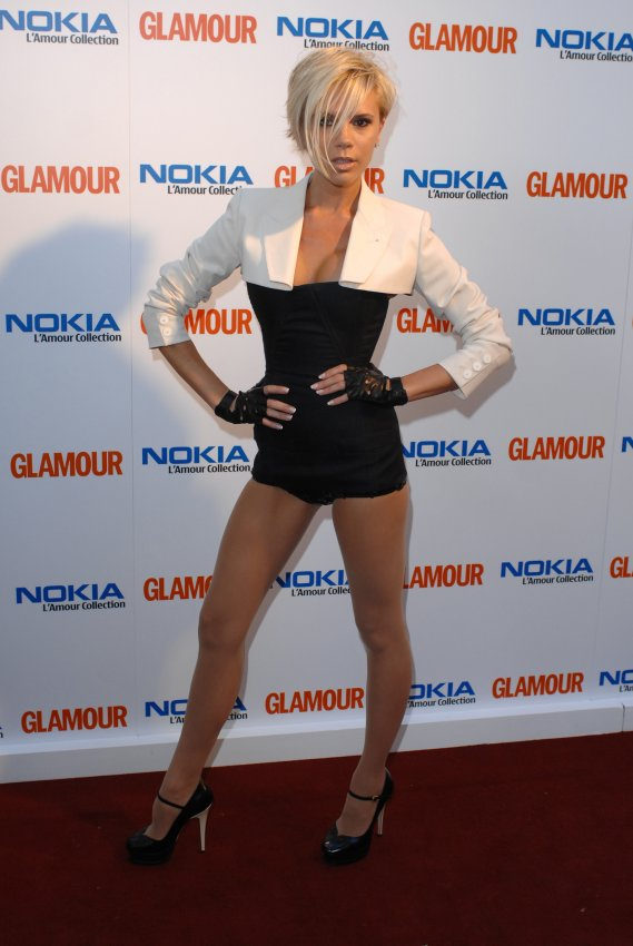 Victoria Beckham at the 2007 Glamour Women of the Year Awards