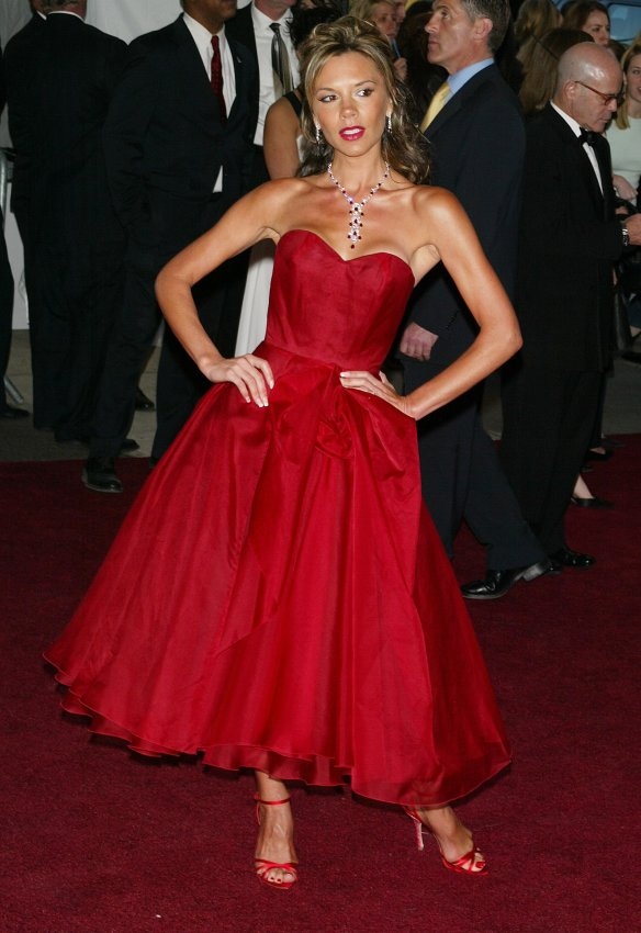 Victoria Beckham at the 2006 Met Gala