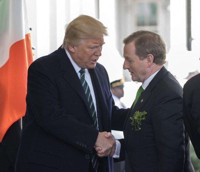 Trump Meets Irish leader Kenny at White House