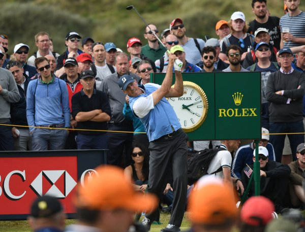 in photos  moments from the 2017 british open golf tournament - all photos
