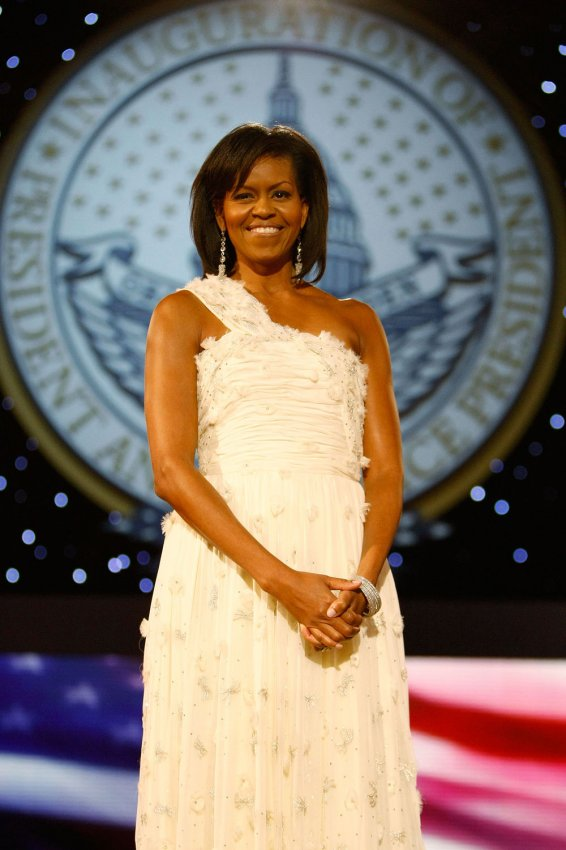 In photos: First lady inauguration gowns through history - All ...