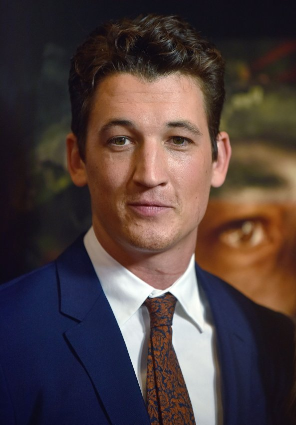 Miles Teller Haley Bennett Attend Thank You For Your Service Premiere All Photos Upi Com