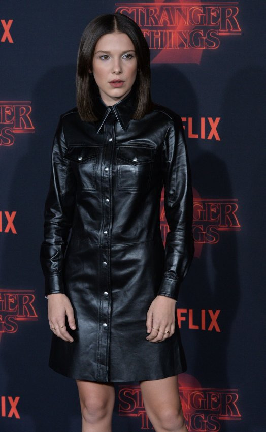 In photos: Winona Ryder, cast attend premiere of 'Stranger