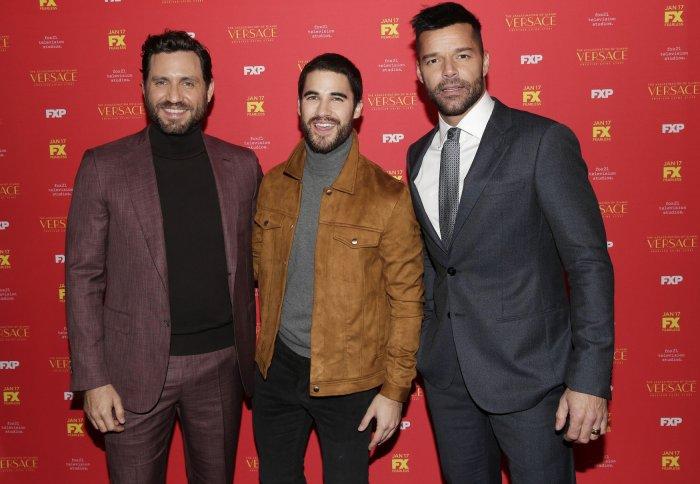 Darren-Criss-Ricky-Martin-attend-The-Ass