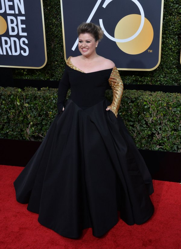 in photos stars wear black on the red carpet at the