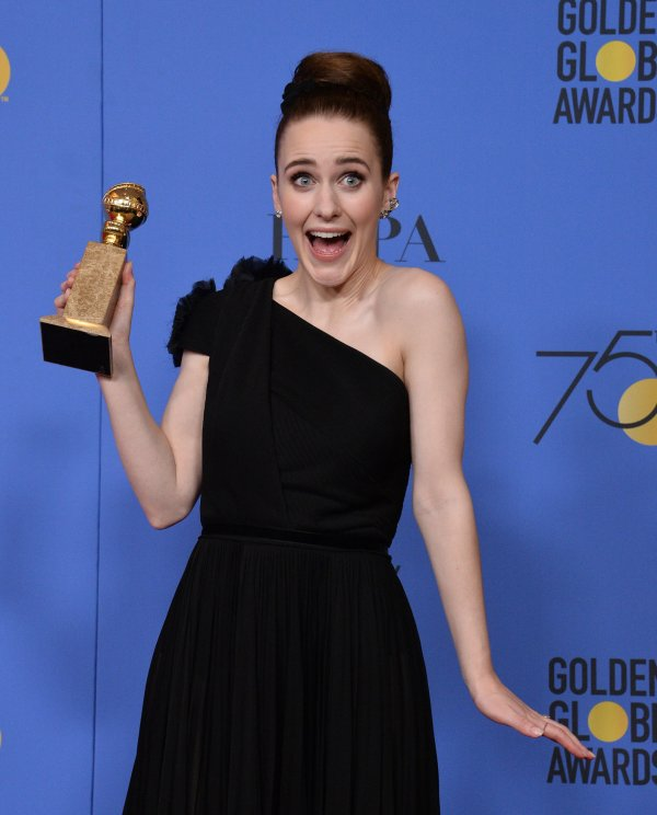 Image result for Rachel Brosnahan golden globes