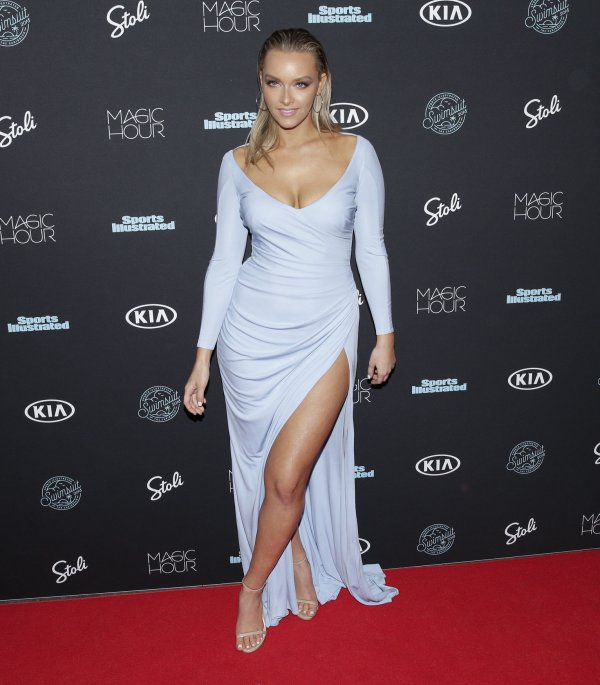 Camille Kostek Swkmsuit: In Photos: Tyra Banks Attends Sports Illustrated Swimsuit
